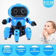 800.67 руб. 22% СКИДКА|Интеллектуальный индукционный робот RC DIY Собранный Электрический робот с датчиком жестов, дистанционный робот RC игрушки-in Трансформеры и игрушки from Игрушки и хобби on Aliexpress.com | Alibaba Group