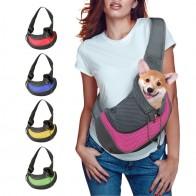 Pet Puppy Carrier S/M Открытый Путешествия собака сумка сетка Оксфорд один комфорт слинг Сумочка Сумка - Для моей собаки