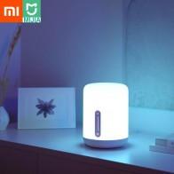 Original Xiaomi Mijia Bedside Lamp 2 Smart Light Voice Control Touch Switch Mi Home App Led Bulb for Apple Homekit Siri-in Smart Remote Control from Consumer Electronics on AliExpress