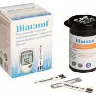 Купить Diacont тест-полоски, 50 шт. по низкой цене с доставкой из маркетплейса Беру