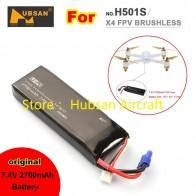 € 17.99 |Gran venta batería LiPo Original 7,4 V 2700 mAh para Hubsan H501A H501S H501C-in Partes y accesorios from Juguetes y pasatiempos on Aliexpress.com | Alibaba Group