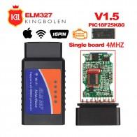 447.28 руб. 5% СКИДКА|ELM327 V1.5 Bluetooth/wifi OBD2 автомобильный диагностический инструмент ELM 327 OBD II код считыватель чип PIC18F25K80 работа Android/IOS/Windows 12 V автомобиль-in Считыватели кодов и сканирующие инструменты from Автомобили и мотоциклы on Aliexpress.com | Alibaba Group