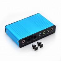 644.33 руб. 10% СКИДКА|Синий 6 канала внешняя звуковая карта 5,1 Surround Sound USB 2,0 Внешний оптический S/PDIF аудио адаптер Звуковая карта для портативных ПК-in Звуковые карты from Компьютер и офис on Aliexpress.com | Alibaba Group