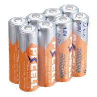 783.38 руб. 20% СКИДКА|Аккумуляторная батарея PKCELL AA Ni Zn 2500Wh 1,6 V 2A для игрушки rc элемент-in Подзаряжаемые батареи from Бытовая электроника on Aliexpress.com | Alibaba Group