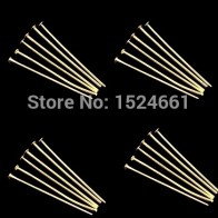 US $1.02 30% OFF| 0.7x40mm Bead European  Fit BIAGI Bracelet 200PCs  Plated Head Pins  *bead caps toggle clasp brooch findings-in Jewelry Findings & Components from Jewelry & Accessories on Aliexpress.com | Alibaba Group
