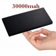 € 8.61 76% de DESCUENTO|Ultra delgada de polímero Dual USB banco de potencia 30000 mAh portátil banco de energía cargador de batería externo para Xiaomi mi teléfonos móviles tabletas-in Cargador portátil from Teléfonos celulares y telecomunicaciones on Aliexpress.com | Alibaba Group
