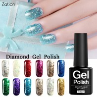 44.49 руб. 35% СКИДКА|Zation Gel Color Enamels Manicure Decoration Nail Polish Glitter Diamond Semi Permanent Gel Varnish Soak Off Lacquer Painting-in Гель для ногтей from Красота и здоровье on Aliexpress.com | Alibaba Group