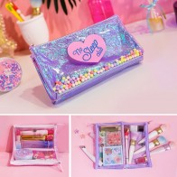 US $8.44 35% OFF|Women Cute Travel Cosmetic Bags Waterproof Girls PVC Makeup Brushes Toiletry Organizer Pouch Causal Make Up Beauty Case Box -in Cosmetic Bags & Cases from Luggage & Bags on Aliexpress.com | Alibaba Group