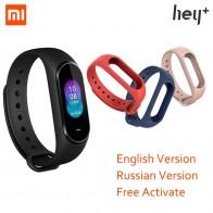 2091.85 руб. 25% СКИДКА|Английская версия Xiaomi Hey Plus Smartband 0,95 дюймов AMOLED цветной экран встроенный многофункциональный NFC монитор сердечного ритма Смарт часы-in Смарт-браслеты from Бытовая электроника on Aliexpress.com | Alibaba Group