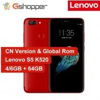 7584.65 руб. |Глобальная прошивка lenovo S5 K520 смартфон 4 ГБ ОЗУ 64 Гб ПЗУ Snapdragon 625 Восьмиядерный мобильный телефон 5,7