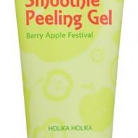 Купить Holika Holika пилинг-гель для лица Smoothie Peeling Gel Berry Apple Festival 120 мл по низкой цене с доставкой из маркетплейса Беру