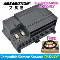 5218.17 руб. |Акция! Amsamotion PLC S7 200CN CPU224XP 14I/10O 2AI 1AO AC/DC/RLY 6ES7 214 2BD23 0XB8 с PPI кабель бесплатно-in Контроллер двигателя from Товары для дома on Aliexpress.com | Alibaba Group