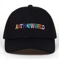 US $4.4 37% OFF|100% Cotton ASTROWORLD Baseball Caps Travis Scott Unisex Astroworld Dad Hat Cap High Quality Embroidery Man Women Summer Hat-in Baseball Caps from Apparel Accessories on Aliexpress.com | Alibaba Group