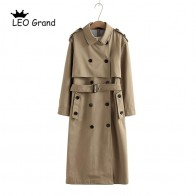 2325.31 руб. 39% СКИДКА|Vee Top женское повседневное однотонное двубортное пальто, модная офисное пальто с поясом, шикарный дизайн, длинный Тренч 902229-in Тренч from Женская одежда on Aliexpress.com | Alibaba Group