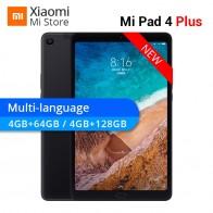 19354.04 руб. |Многоязычный Xiaomi mi Pad 4 Plus 64 Гб/128 ГБ Планшеты 4 Snapdragon 660 AIE 8620 мАч 10,1
