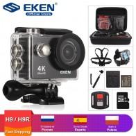 2261.56 руб. 23% СКИДКА|Eken H9R/H9 Экшн камера Ultra HD 4 K/25fps WiFi 2,0