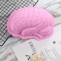Форма в форме мозга на Хэллоуин