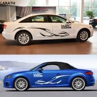 LARATH бренд автомобильный тянуть цветок полный автомобиль стикер тела тянуть цветок ремонт личность двери автомобиля стикер наклейка WRC купить на AliExpress