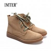3112.59 руб. 43% СКИДКА|Обувь женские ботильоны 100% натуральная кожа Для женщин сапоги с круглым носком, на шнуровке, ботинки женская обувь (h189)-in Ботильоны from Туфли on Aliexpress.com | Alibaba Group