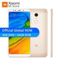 9418.94 руб. |Xiaomi Redmi 5 Plus 4 ГБ ОЗУ 64 Гб ПЗУ мобильный телефон 18:9 полный экран Snapdragon 625 Восьмиядерный 5,99