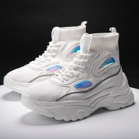 1615.8 руб. 42% СКИДКА|JINBAOKE/Новые мужские кроссовки на платформе, обувь для бега на толстой подошве, увеличивающая рост, женская обувь на массивном каблуке 6 см, прогулочная обувь-in Беговая обувь from Спорт и развлечения on Aliexpress.com | Alibaba Group