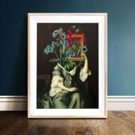 487.52 руб. 28% СКИДКА|Абстрактная фигура плакат плакаты на скандинавскую тему и принты винтажная картина с цветком стены искусства картина для гостиной Декор для дома-in Рисование и каллиграфия from Дом и животные on Aliexpress.com | Alibaba Group