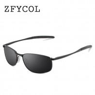 504.88 руб. 45% СКИДКА|Zfycol 2017 Солнцезащитные очки Для мужчин поляризованный известный Брендовая дизайнерская обувь для вождения Защита от солнца очки мужской стеклами Gafas Óculos UV400 купить на AliExpress