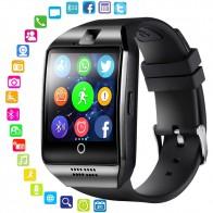 702.3 руб. 39% СКИДКА|Смарт часы с камерой, Q18 Bluetooth SmartWatch SIM TF слот для карт фитнес трекер спортивные часы для Android-in Смарт-часы from Бытовая электроника on Aliexpress.com | Alibaba Group