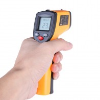 US $7.0 29% OFF|Non Contact Digital Laser infrared thermometer GM320  50 380C Themperature Pyrometer IR Laser Point Gun For Industry home use-in Temperature Instruments from Tools on Aliexpress.com | Alibaba Group