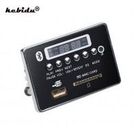 Kebidu Hands free MP3 декодер плата Bluetooth модуль автомобиля USB MP3 плеер USB FM Aux радио для автомобиля Интегрированный пульт дистанционного управления Новый купить на AliExpress
