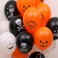 16pcs Halloween Decorative Balloon Set