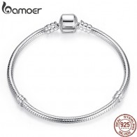 US $20.56 35% OFF|BAMOER Christmas SALE Authentic 100% 925 Sterling Silver Snake Chain Bangle & Bracelet Luxury Jewelry 17 20CM PAS902-in Chain & Link Bracelets from Jewelry & Accessories on Aliexpress.com | Alibaba Group