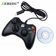 US $11.16 |kebidu USB Wired Joypad Gamepad Wholesale Controller For Microsoft Game System PC Laptop For Windows 7-in Gamepads from Consumer Electronics on Aliexpress.com | Alibaba Group