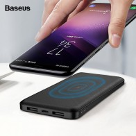 US $15.99 35% OFF|Baseus 10000mAh Qi Wireless Charger Power Bank External Battery Wireless Charging Powerbank For iPhone Samsung Xiaomi Poverbank-in Power Bank from Cellphones & Telecommunications on Aliexpress.com | Alibaba Group