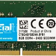 Купить Модуль памяти CRUCIAL CT8G4SFS824A DDR4 -  8Гб в интернет-магазине СИТИЛИНК, цена на Модуль памяти CRUCIAL CT8G4SFS824A DDR4 -  8Гб (398920) - Москва