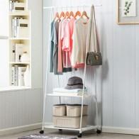 Многофункциональный плащ треугольной формы съемный шкаф для одежды для спальни с колесами напольная вешалка для одежды