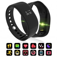 US $12.91 24% OFF|V66 Smart Bracelet Waterproof Heart Rate Monitor Men Women Smart Band Alarm Clock Sports Watch SmartWatch For Android IOS Phone-in Smart Watches from Consumer Electronics on Aliexpress.com | Alibaba Group
