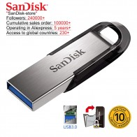 US $6.9 51% OFF|SanDisk 100% Original Genuine USB 3.0 USB Flash Drive 16GB 32GB 64GB 128GB 256GB Pen Drive Memory Stick 10 years warranty-in USB Flash Drives from Computer & Office on Aliexpress.com | Alibaba Group