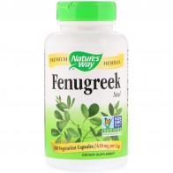 Natures Way, Fenugreek Seed, 610 mg, 180 Vegetarian Capsules