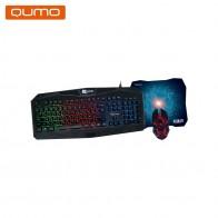 Клавиатура и мышь Qumo Respawn K28/M28-in Комплекты из клавиатуры и мыши from Компьютер и офис on AliExpress