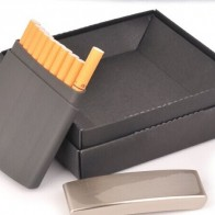 742.9 руб. |DIY customized personalized cigarette case! 10 filter business Christmas birthday gift laser logo cigarette holder metal box-in Зажигалки from Дом и сад on Aliexpress.com | Alibaba Group