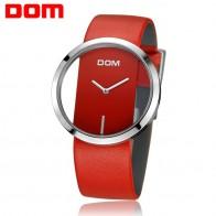 US $39.84 |Women Watch DOM Brand luxury Fashion Casual Unique Lady Wrist watches leather quartz waterproof Stylish relogio feminino 205-in Women