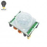 US $0.44 |WAVGAT HC SR501 Adjust Infrared IR Pyroelectric Infrared PIR module Motion Sensor Detector Module We are the manufacturer-in Sensors from Electronic Components & Supplies on Aliexpress.com | Alibaba Group