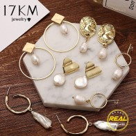 US $1.72 20% OFF|17KM New 25 Pearl Drop Earrings For Women 2019 Brincos Long Geometric Dangle Earring Gold Female Vintage Jewelry Gift-in Drop Earrings from Jewelry & Accessories on Aliexpress.com | Alibaba Group
