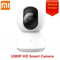 US $33.54 26% OFF|2018 Newest Xiaomi Mijia Mi Smart Cam Cradle Head Version 1080P HD 360 Degree Night Vision Webcam IP Camcorder WIFI App Control-in Smart Remote Control from Consumer Electronics on Aliexpress.com | Alibaba Group