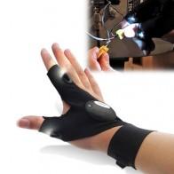 Универсальная перчатка с LED подсветкой на пальцах для ремонта рыбалки выживания