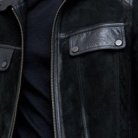Мужская кожаная куртка Derimod ME-5638116581 - Мужские кожаные куртки