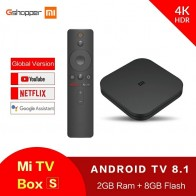 US $38.99 |Original Xiaomi MI BOX S 4K Quad Core 3 Android 6.0 2G/8G Smart HDR Movie Set top Box Multi language Netflix YouTube Google-in Set-top Boxes from Consumer Electronics on Aliexpress.com | Alibaba Group
