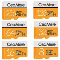 US $3.19 30% OFF|CeaMere Micro SD Card 256GB/128GB/64GB UHS 3 32GB/16GB/8GB Class 10 UHS 1 4GB Memory Card Flash Memory Microsd Free Crad Reader-in Micro SD Cards from Computer & Office on Aliexpress.com | Alibaba Group