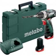 Купить Аккумуляторная дрель-шуруповерт Metabo PowerMaxx BS 2014 Basic 2.0Ah x2 Case 34 Н·м зеленый/черный/серый по низкой цене с доставкой из маркетплейса Беру